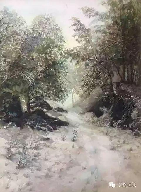 【水彩•风景】张文杰作品欣赏 第7张