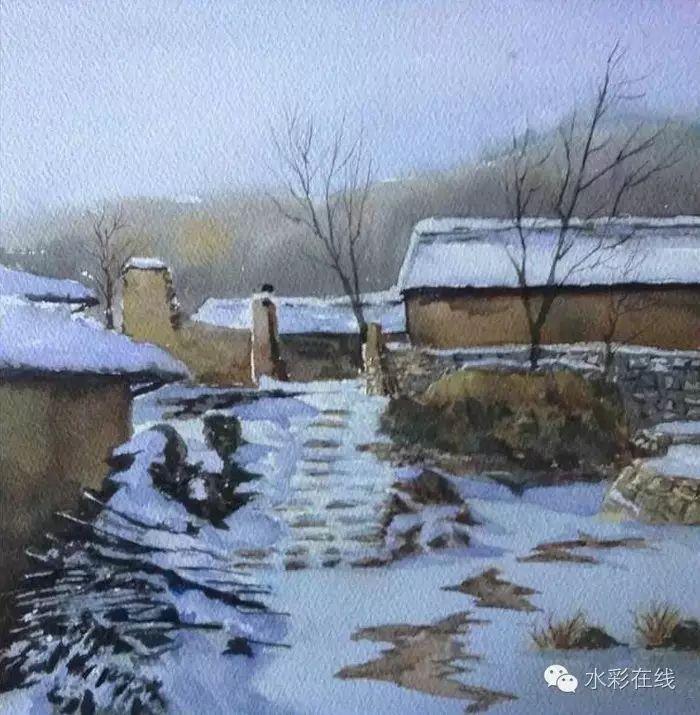 【水彩•风景】张文杰作品欣赏 第16张