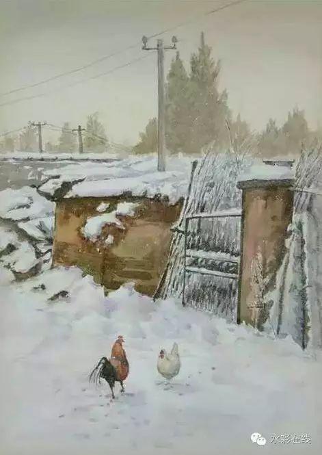 【水彩•风景】张文杰作品欣赏 第15张