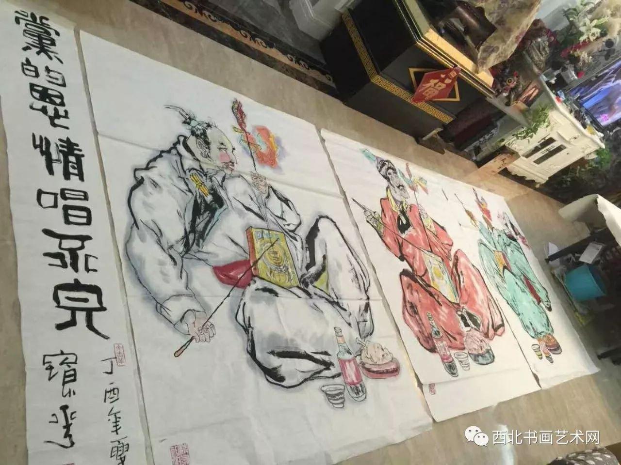 西北书画艺术网向您推荐:著名画家刘宝平 第2张