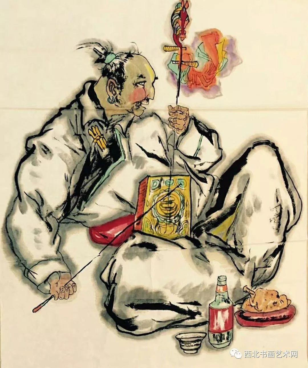 西北书画艺术网向您推荐:著名画家刘宝平 第3张