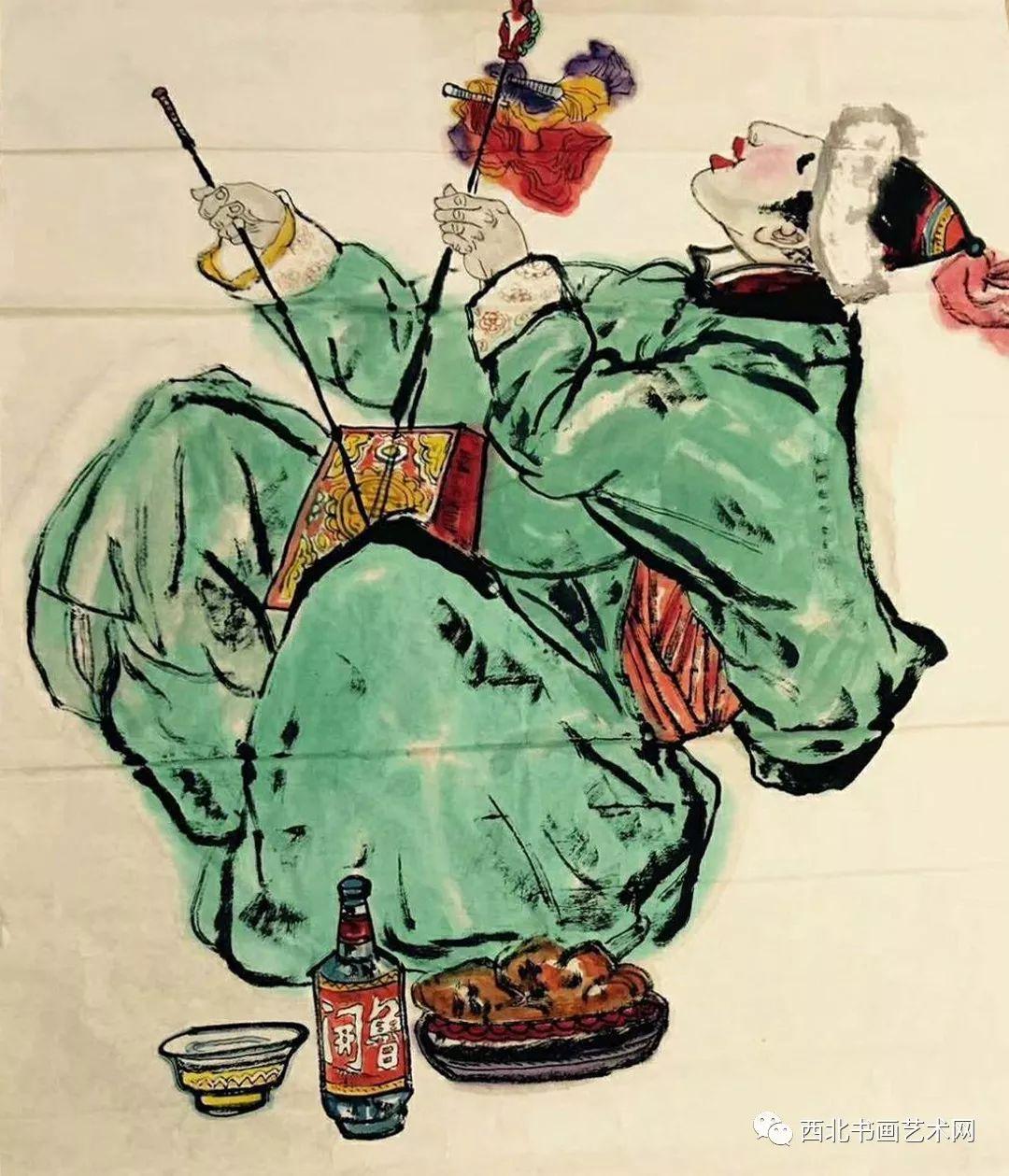 西北书画艺术网向您推荐:著名画家刘宝平 第4张