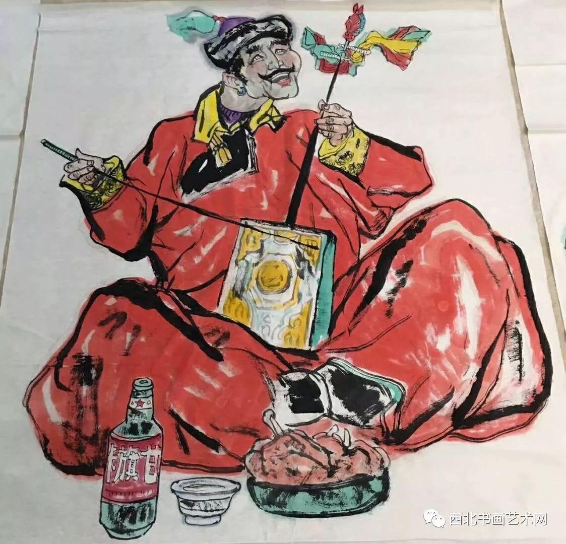 西北书画艺术网向您推荐:著名画家刘宝平 第5张