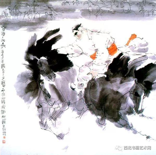 西北书画艺术网向您推荐:著名画家刘宝平 第7张
