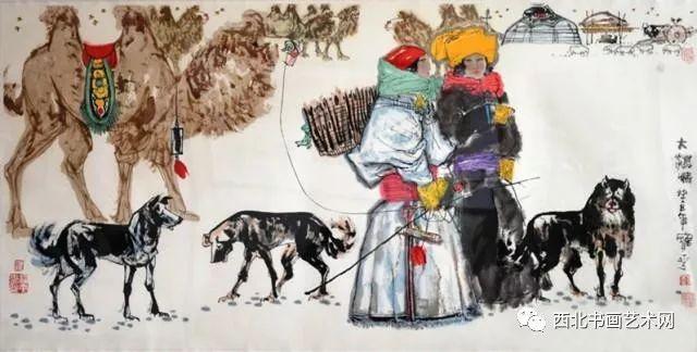 西北书画艺术网向您推荐:著名画家刘宝平 第8张