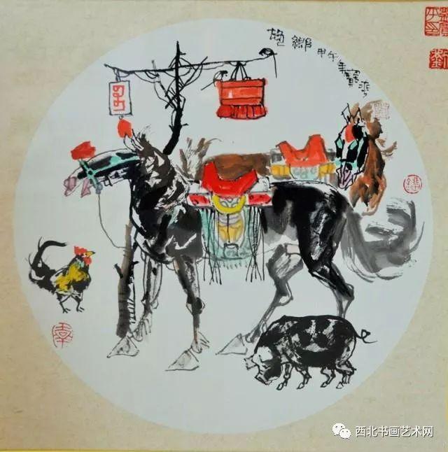 西北书画艺术网向您推荐:著名画家刘宝平 第11张
