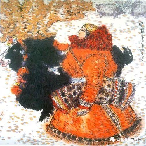 西北书画艺术网向您推荐:著名画家刘宝平 第10张