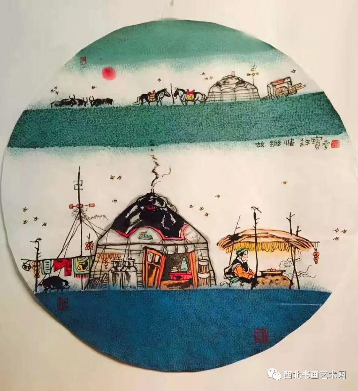 西北书画艺术网向您推荐:著名画家刘宝平 第15张