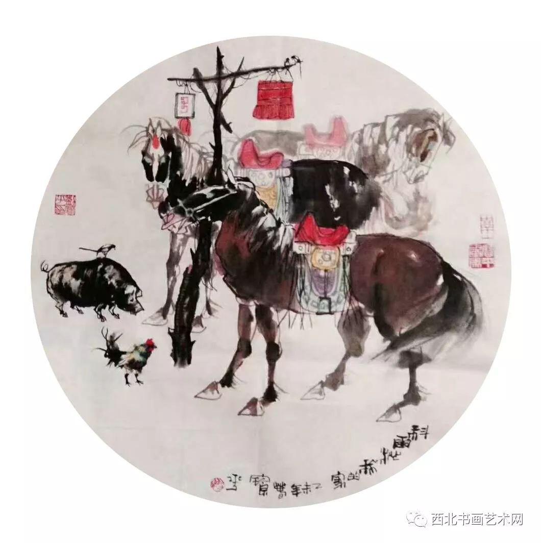 西北书画艺术网向您推荐:著名画家刘宝平 第16张