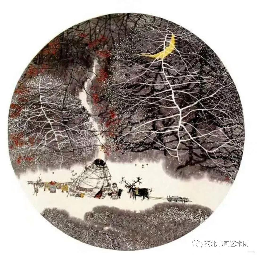 西北书画艺术网向您推荐:著名画家刘宝平 第17张