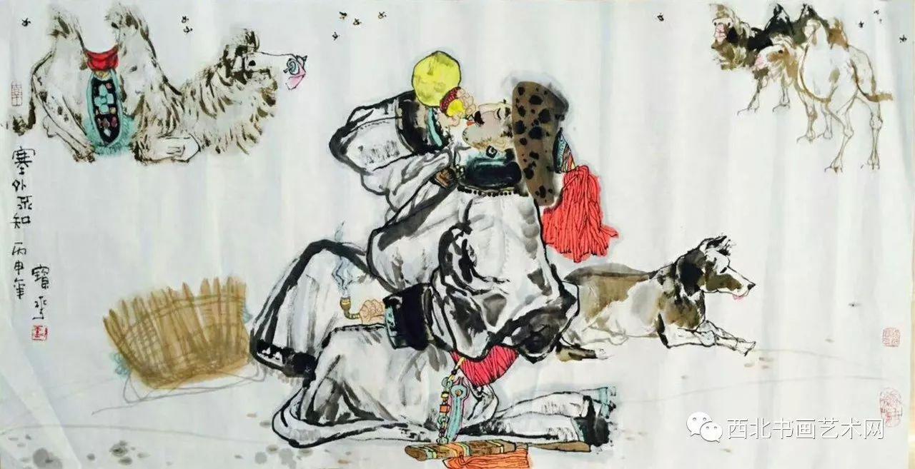 西北书画艺术网向您推荐:著名画家刘宝平 第18张