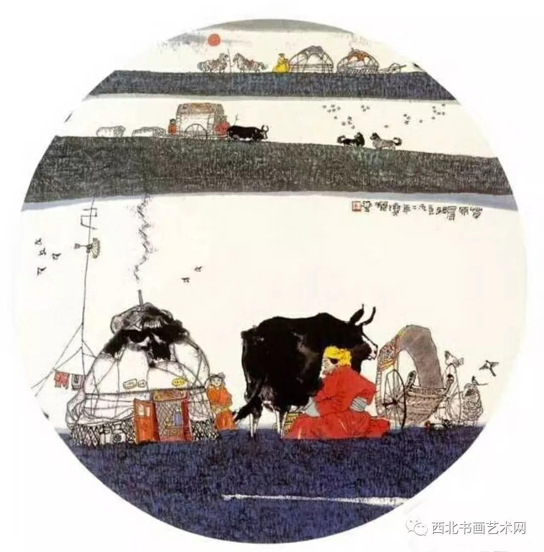 西北书画艺术网向您推荐:著名画家刘宝平 第19张