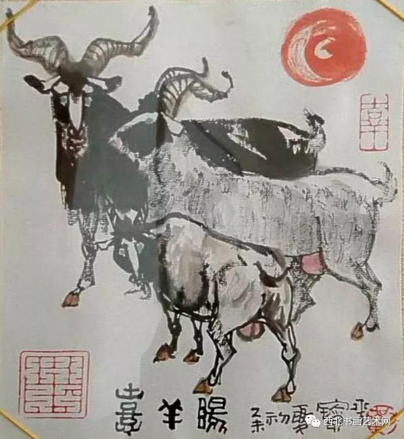 西北书画艺术网向您推荐:著名画家刘宝平 第21张