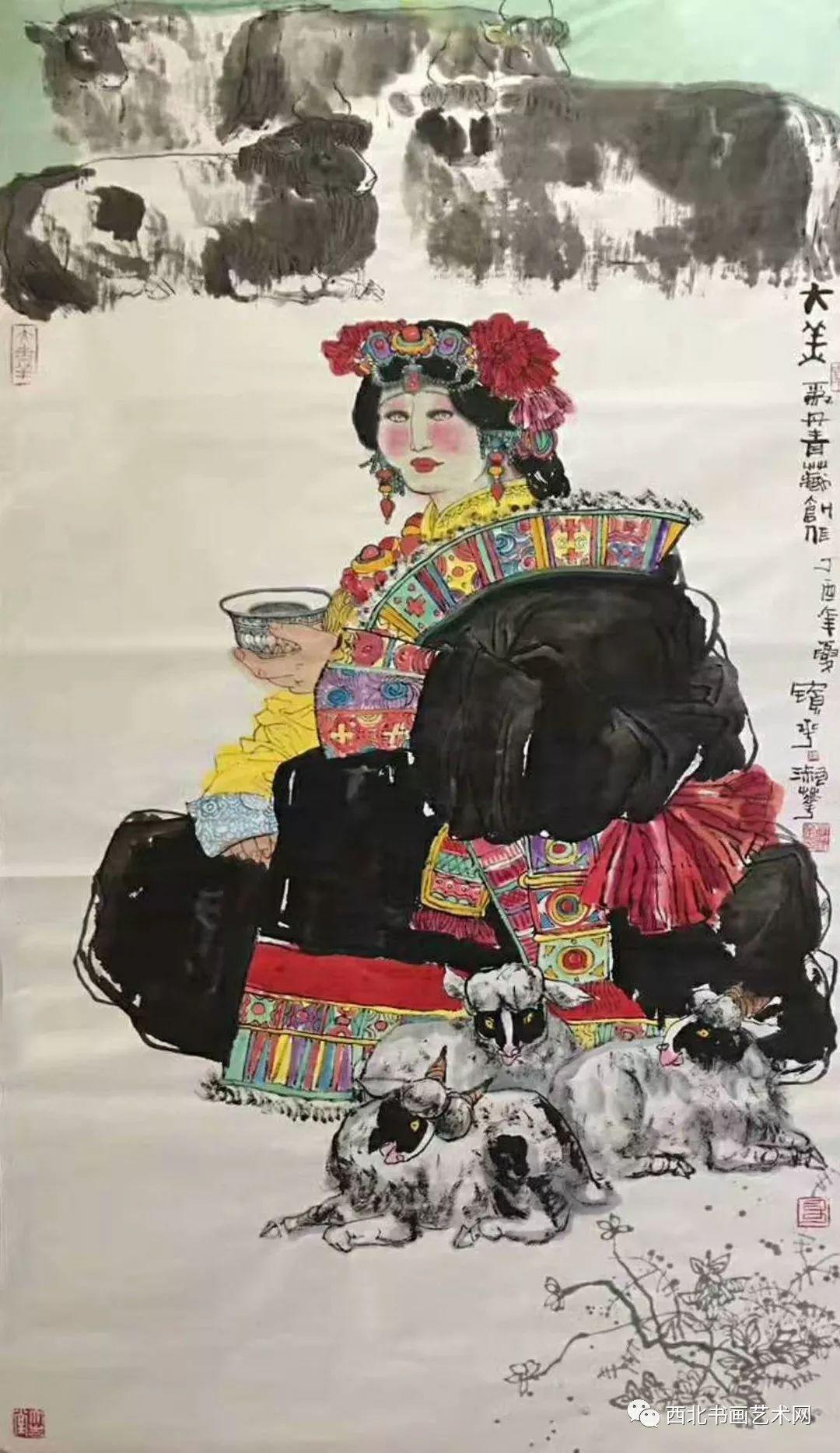 西北书画艺术网向您推荐:著名画家刘宝平 第22张