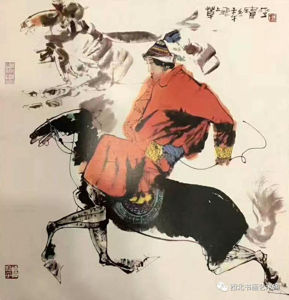 西北书画艺术网向您推荐:著名画家刘宝平 第23张