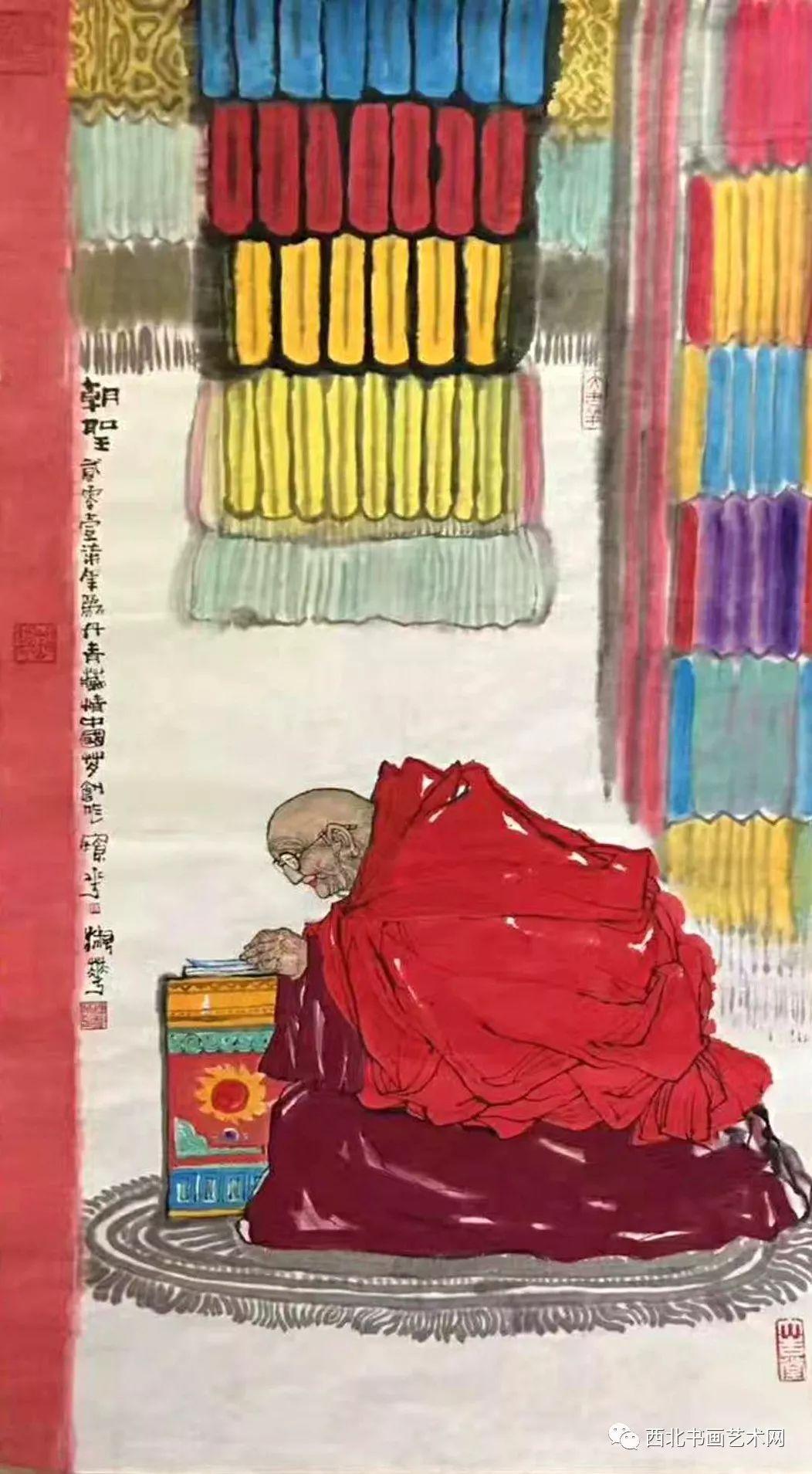 西北书画艺术网向您推荐:著名画家刘宝平 第24张