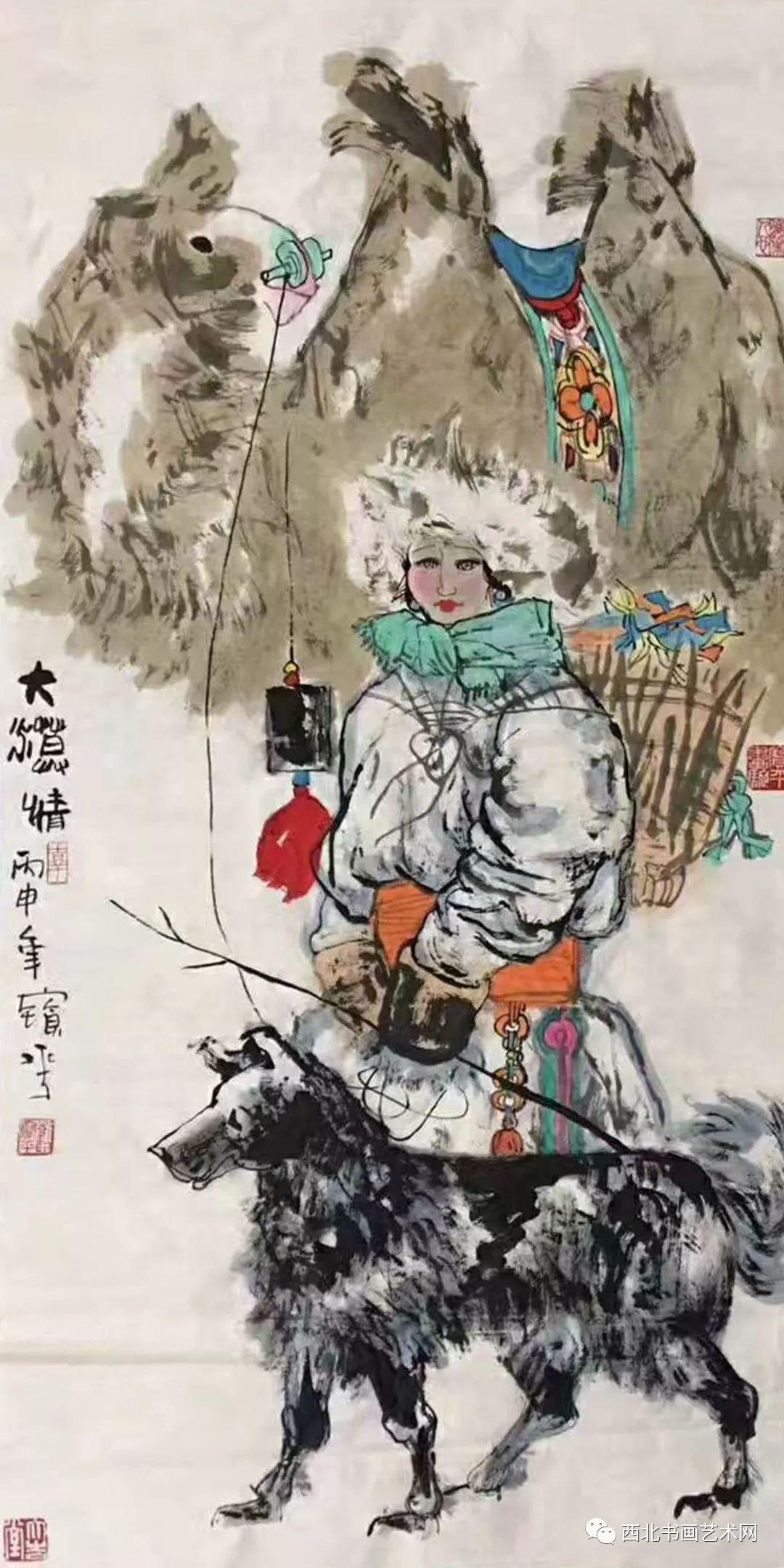 西北书画艺术网向您推荐:著名画家刘宝平 第26张