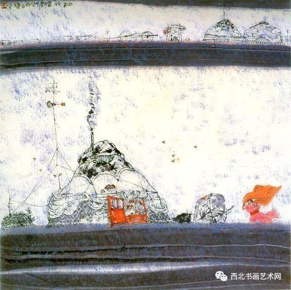 西北书画艺术网向您推荐:著名画家刘宝平 第37张