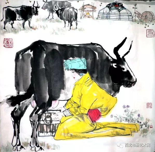 西北书画艺术网向您推荐:著名画家刘宝平 第41张