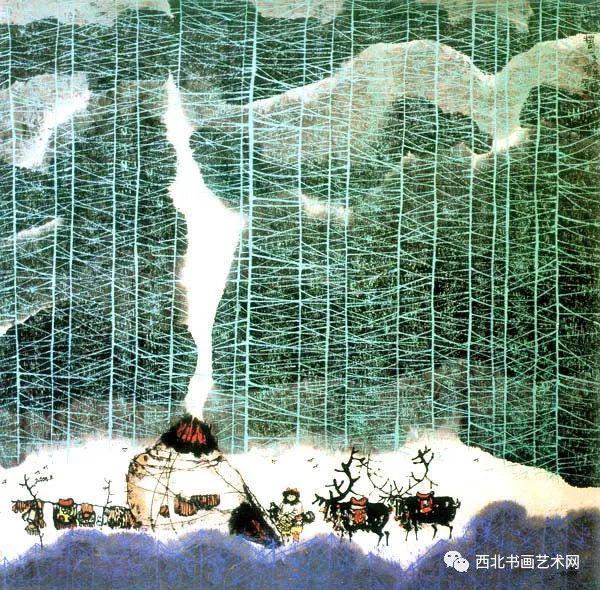 西北书画艺术网向您推荐:著名画家刘宝平 第46张