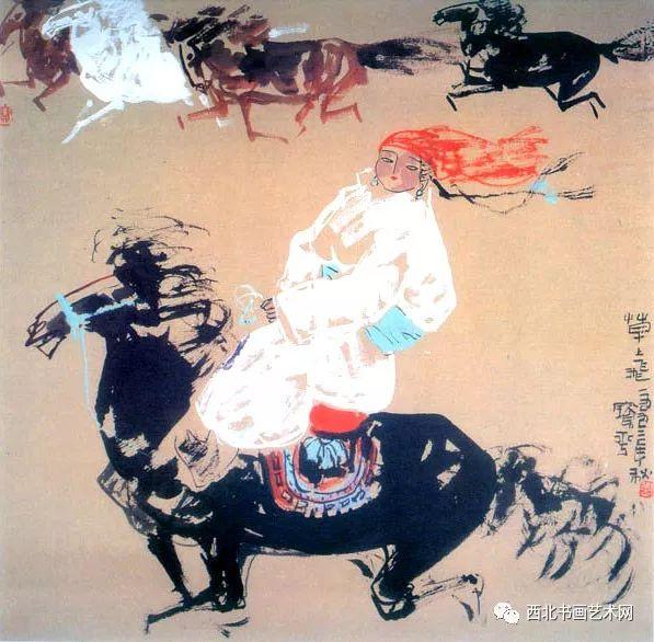 西北书画艺术网向您推荐:著名画家刘宝平 第48张