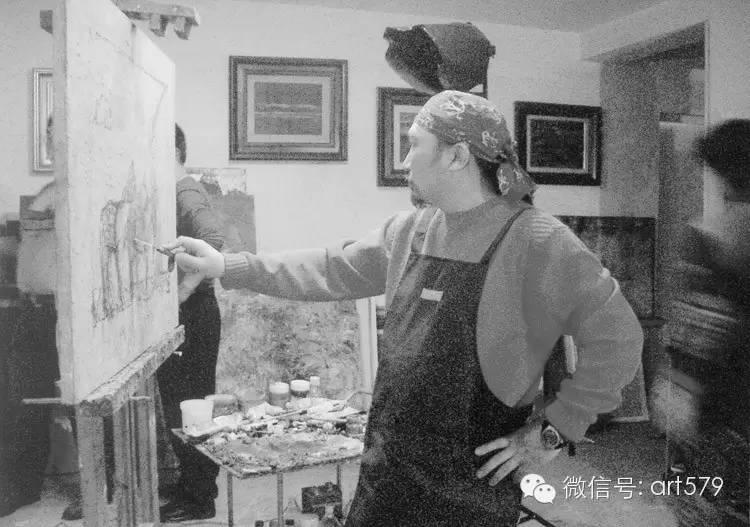 《当代油画》艺术家工作室特辑——砂金工作室 第2张
