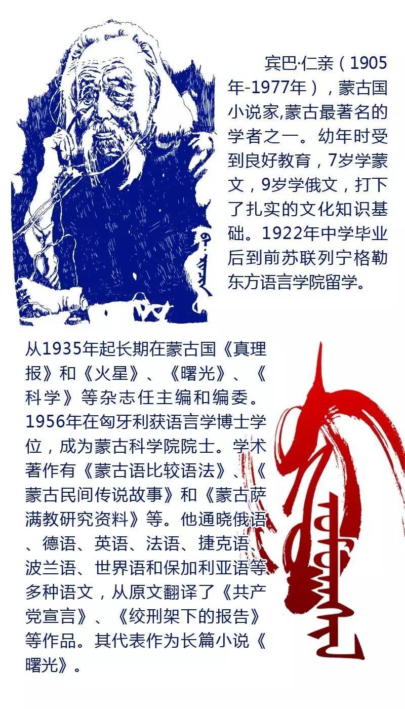 【阿努美图】值得致敬的蒙古伟人,你认识几个? 第15张