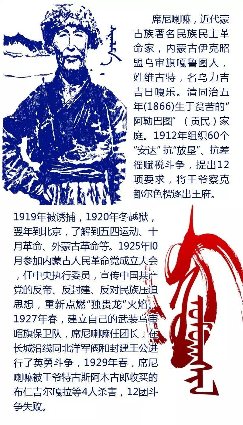 【阿努美图】值得致敬的蒙古伟人,你认识几个? 第17张