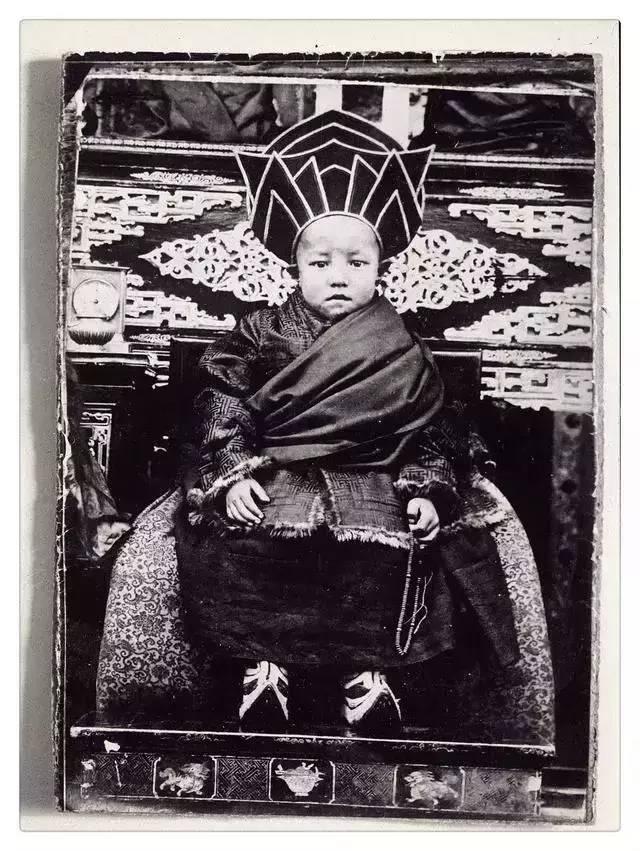100年前的蒙古贵族老照片 第15张