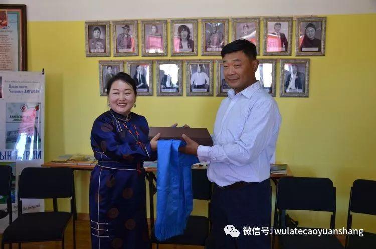 中蒙书法交流在蒙古国南戈壁省进行 第1张