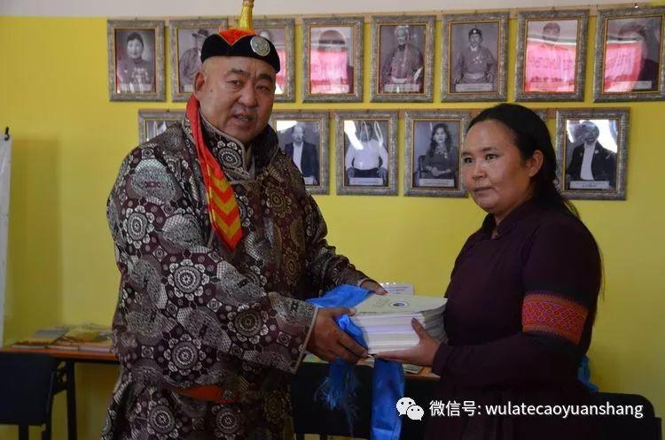 中蒙书法交流在蒙古国南戈壁省进行 第6张
