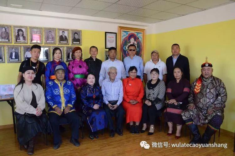 中蒙书法交流在蒙古国南戈壁省进行 第4张