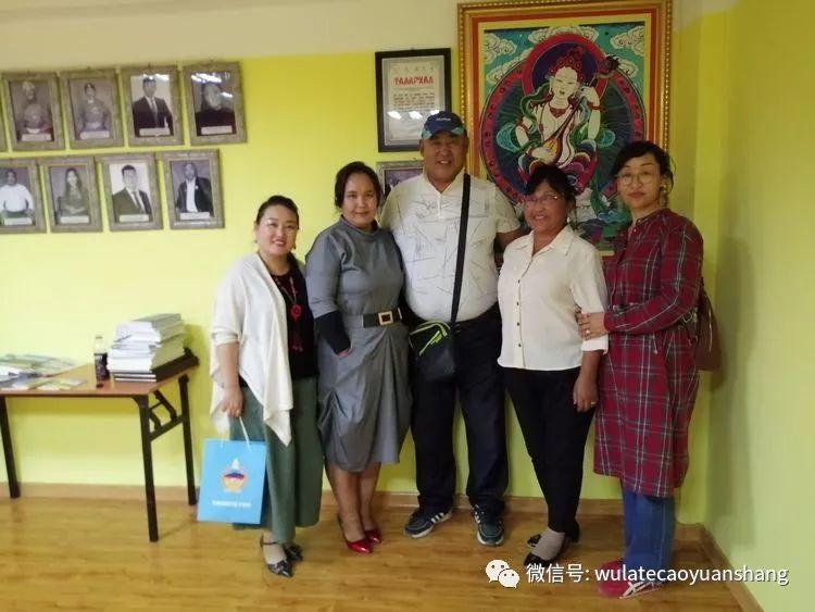 中蒙书法交流在蒙古国南戈壁省进行 第18张