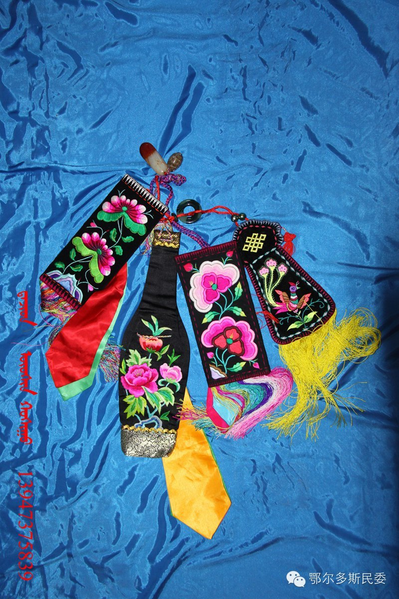 蒙古族刺绣欣赏 第11张 蒙古族刺绣欣赏 蒙古工艺