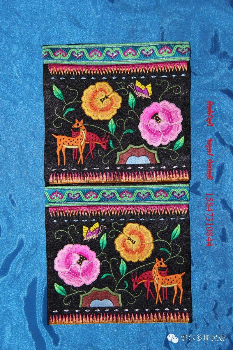 蒙古族刺绣欣赏 第13张 蒙古族刺绣欣赏 蒙古工艺