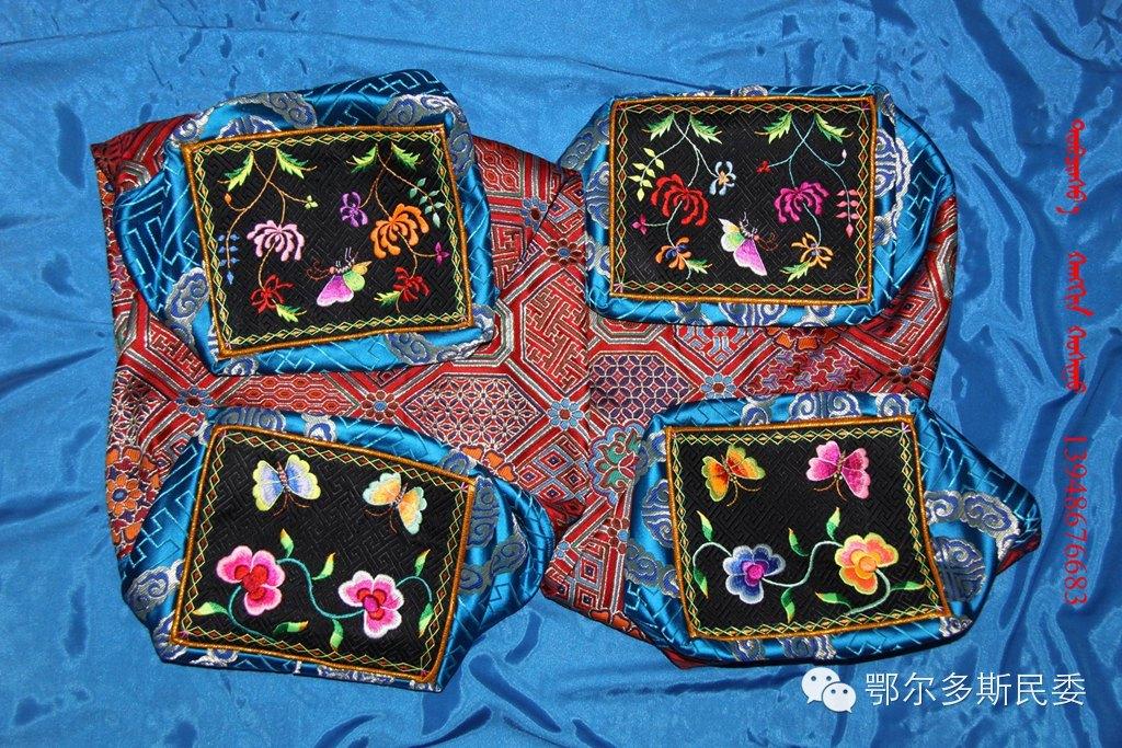 蒙古族刺绣欣赏 第15张 蒙古族刺绣欣赏 蒙古工艺