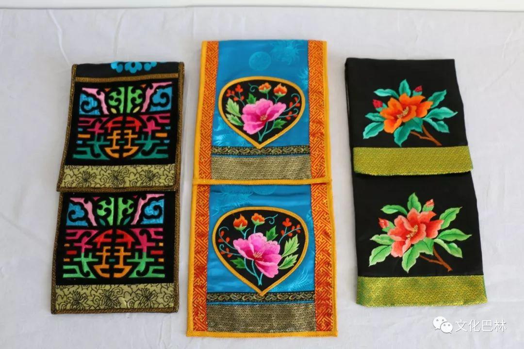 巴林蒙古族刺绣 第5张 巴林蒙古族刺绣 蒙古工艺
