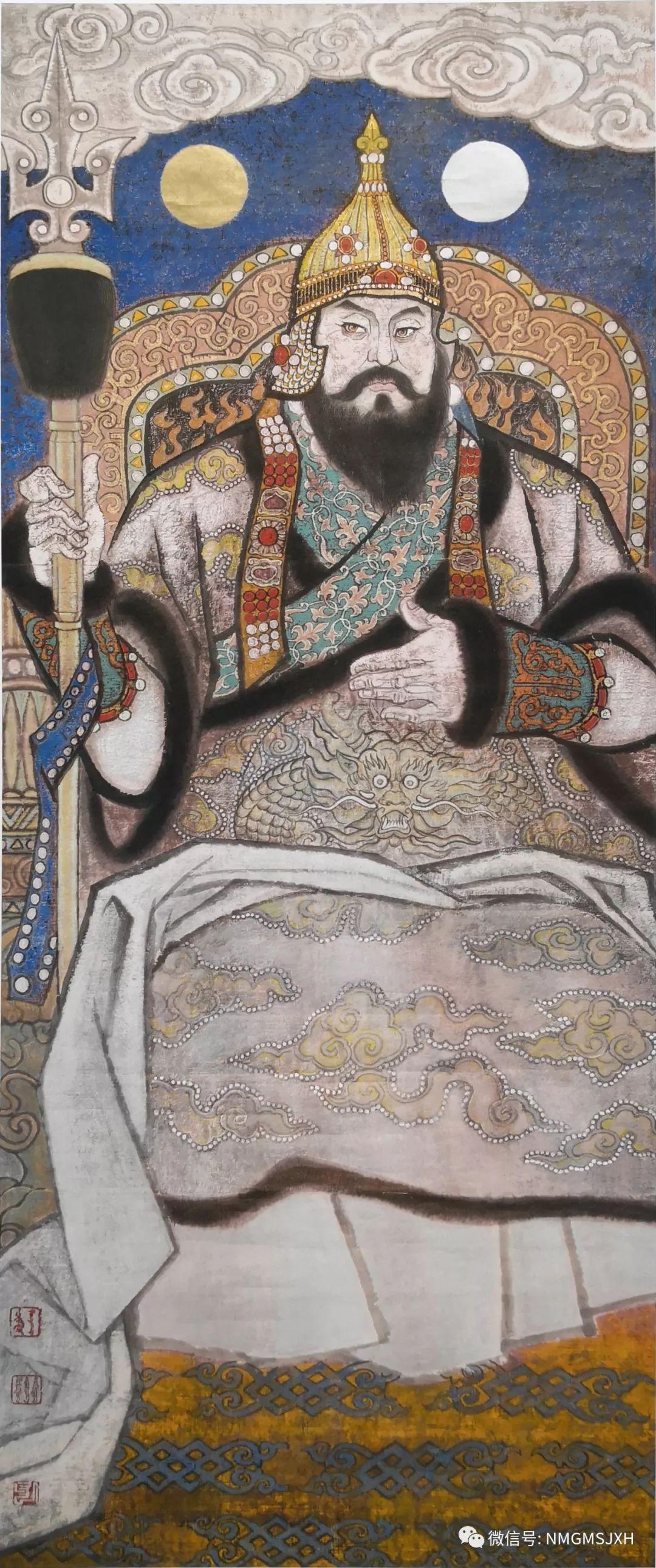 著名蒙古族画家思沁同志逝世 第3张