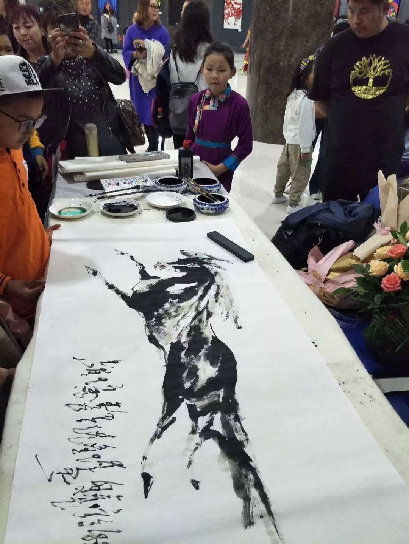 苏龙嘎老师《神骏》个人画展 第23张 苏龙嘎老师《神骏》个人画展 蒙古画廊