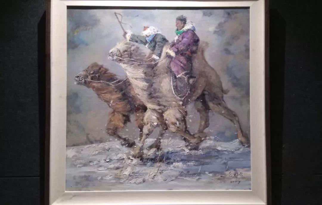 晚秋看画-内蒙古油画作品展-河南郑州站 第3张