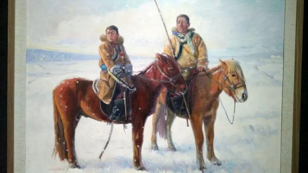 晚秋看画-内蒙古油画作品展-河南郑州站 第10张