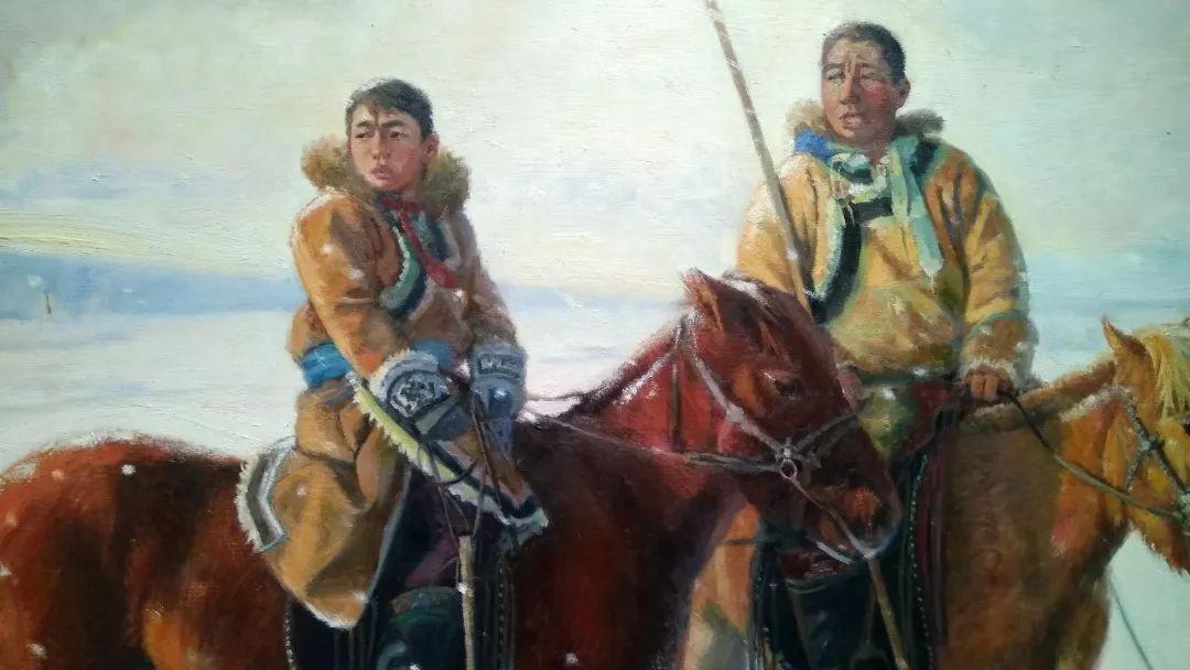 晚秋看画-内蒙古油画作品展-河南郑州站 第11张