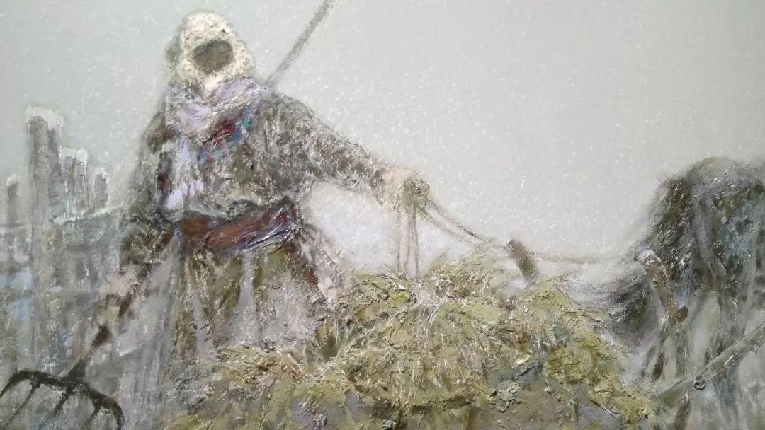 晚秋看画-内蒙古油画作品展-河南郑州站 第20张