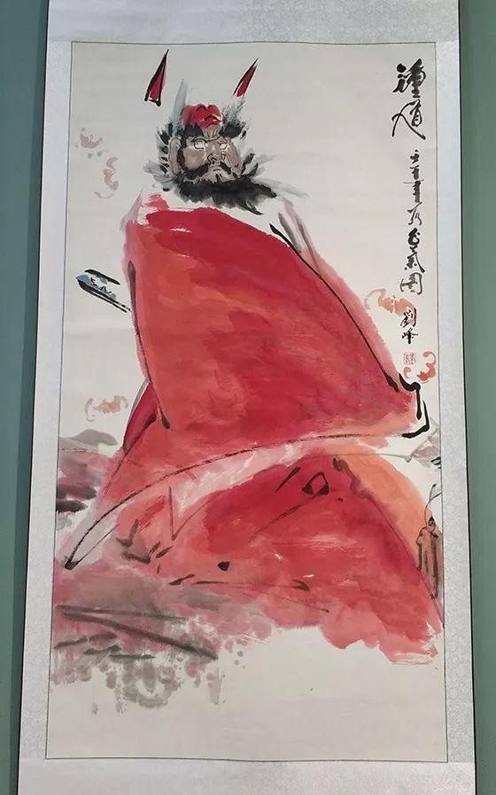 """内蒙古诗书画研究会""""庆祝中华人民共和国成立70周年书画展"""" 第12张"""
