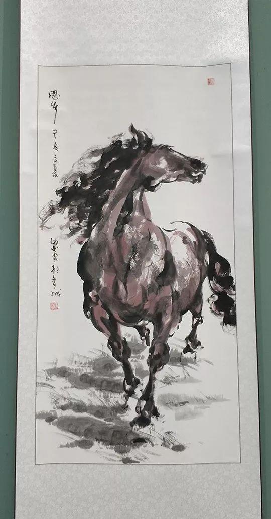 """内蒙古诗书画研究会""""庆祝中华人民共和国成立70周年书画展"""" 第31张"""