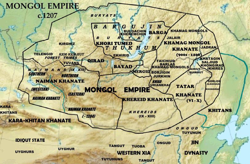 窝阔台汗国与大元帝国的决战 第11张 窝阔台汗国与大元帝国的决战 蒙古文化