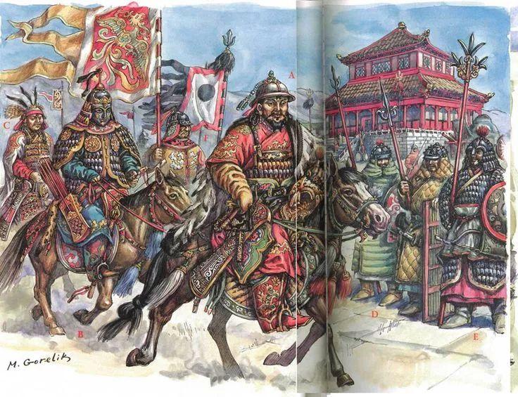 窝阔台汗国与大元帝国的决战 第14张 窝阔台汗国与大元帝国的决战 蒙古文化