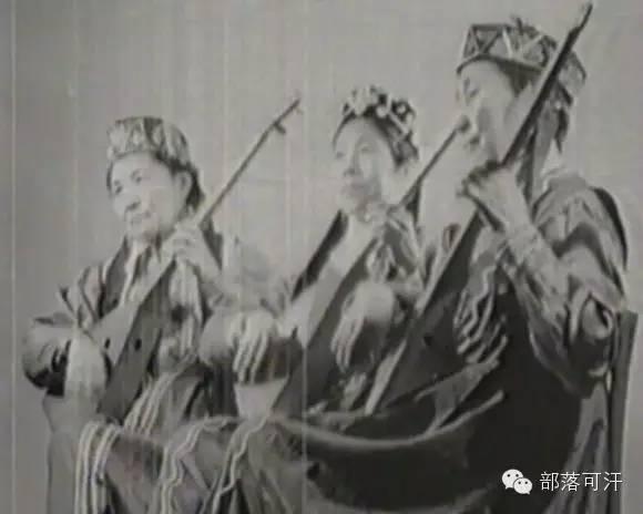 俄罗斯卡尔梅克蒙古怀旧照片 第12张