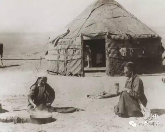 俄罗斯卡尔梅克蒙古怀旧照片 第60张