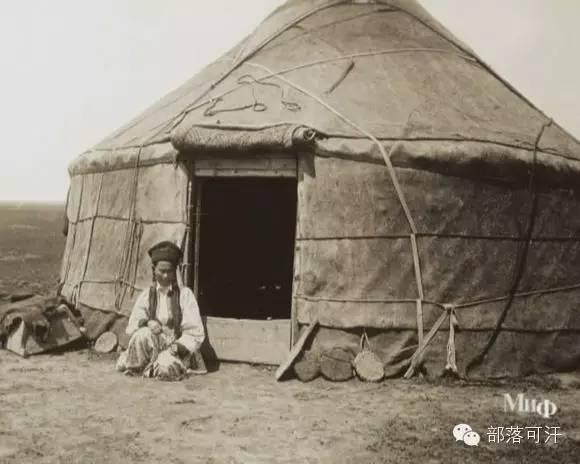 俄罗斯卡尔梅克蒙古怀旧照片 第61张